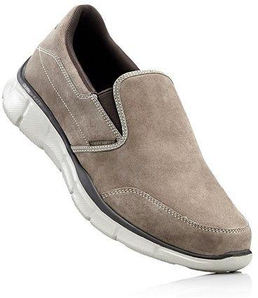 ea3a9f56588a Kožené topánky s pamäťovou penou bonprix značky Skechers - Lovely.sk