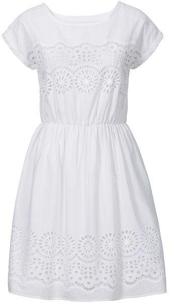 b3d74bf9ca11 Tkané šaty s čipkou bonprix značky BODYFLIRT - Lovely.sk