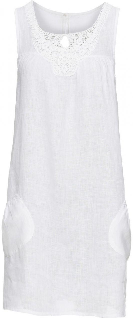5ff3a55d1c5e Ľanové šaty s čipkou bonprix značky BODYFLIRT - Lovely.sk
