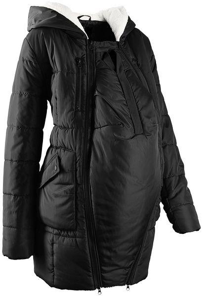 Podšitá tehotenská bunda s vsadkou pre bábätko bonprix značky bpc bonprix  collection - Lovely.sk 714539ab5c6