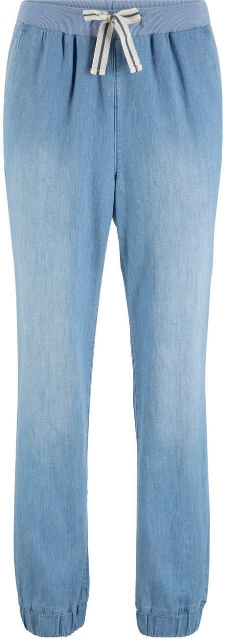 ebc4a39c7664 Pohodlné nohavice s pásikovanou šnúrkou v páse bonprix značky bpc bonprix  collection - Lovely.sk
