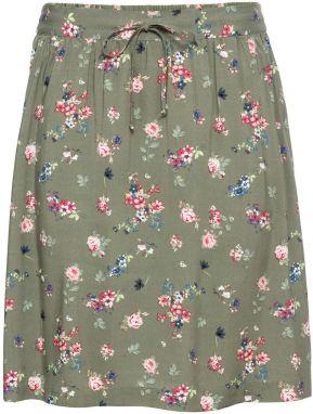 9a433d536972 Kvetovaná sukňa bonprix