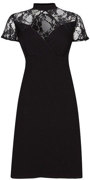 6eff02778556 Úpletové šaty s čipkou bonprix značky RAINBOW - Lovely.sk