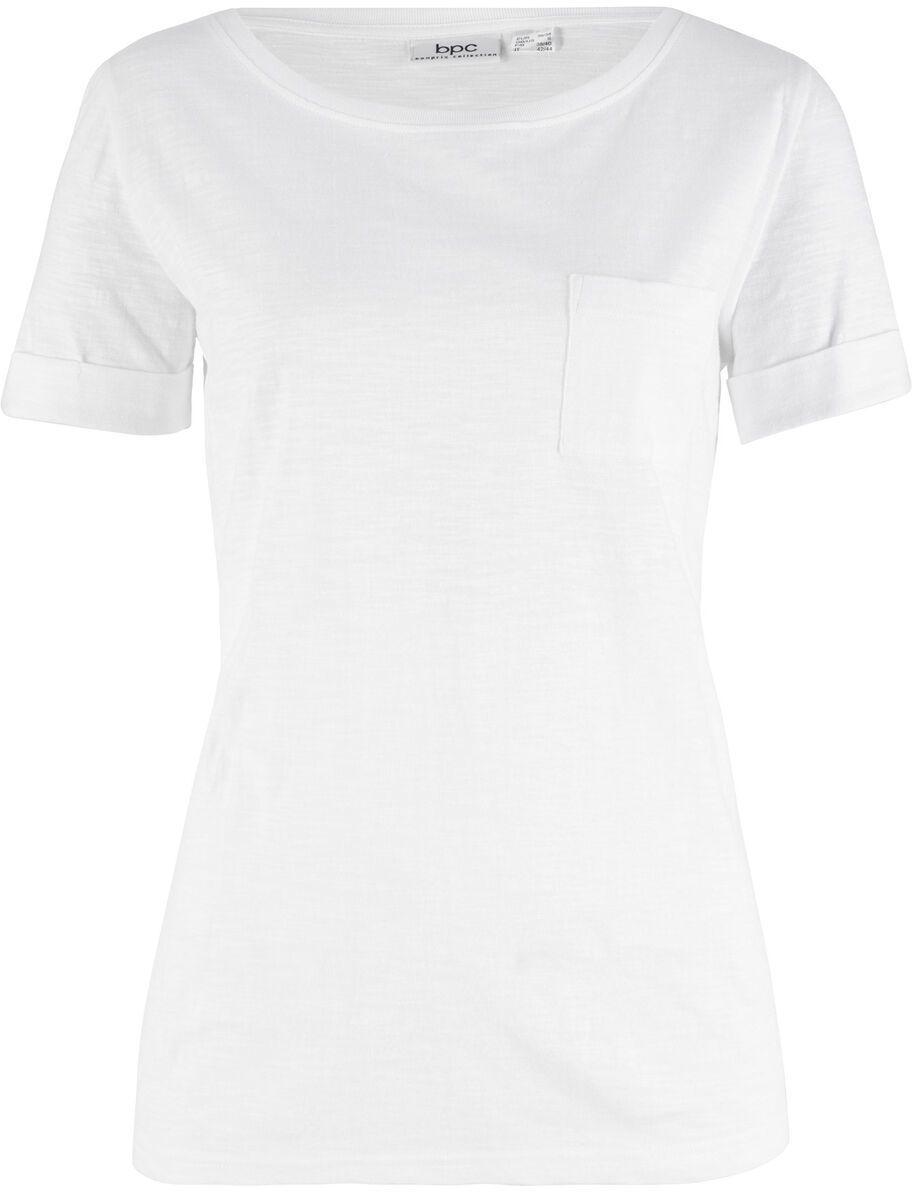 171c02aaa249 Bavlnené tričko s náprsným vreckom bonprix značky bpc bonprix ...