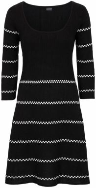 8b0bd8aeb4f5 Úpletové šaty v dvojitom vzhľade bonprix značky bpc selection ...