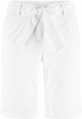 070805e22acb Biele dámske trojštvrťové nohavice - Lovely.sk