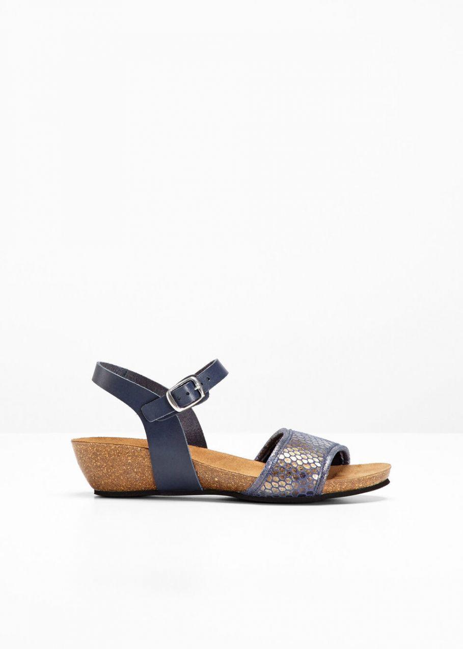 a25d0d00e634 Pohodlné kožené sandále bonprix značky bpc selection - Lovely.sk