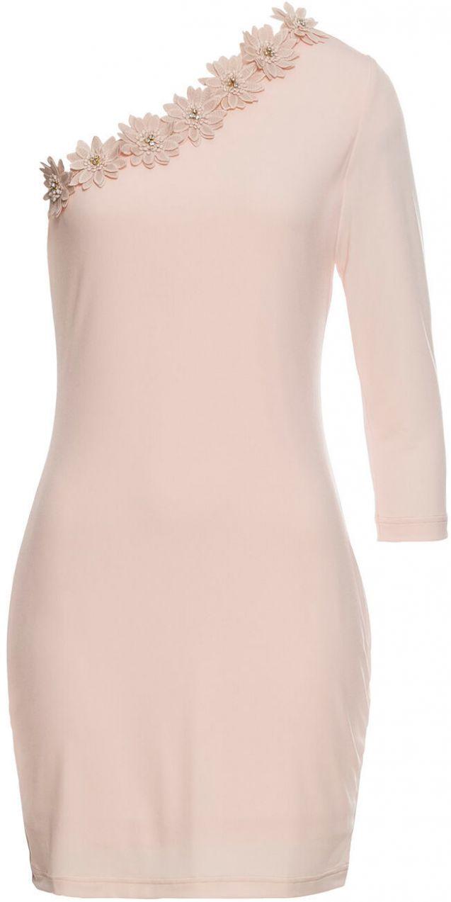 dad10c9976d7 Šaty s kvetovanými aplikáciami bonprix značky BODYFLIRT boutique ...