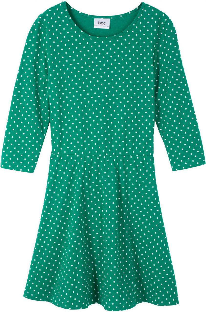 174af89783f6 Úpletové šaty s 3 4 rukávom bonprix značky bpc bonprix collection ...
