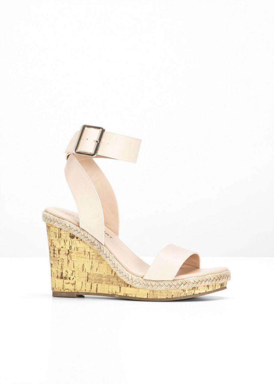 81733306fc25 Klinové sandále bonprix značky BODYFLIRT - Lovely.sk