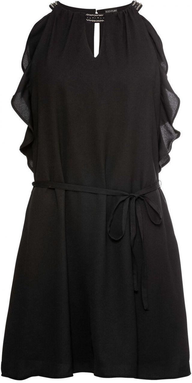 7f9f320934dd Šifónové šaty s volánom bonprix značky BODYFLIRT - Lovely.sk