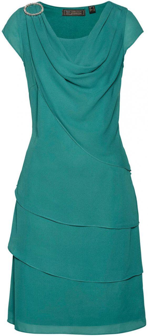 c1a383b15b86 Šifónové šaty vo vrstvenom vzhľade bonprix značky bpc selection ...