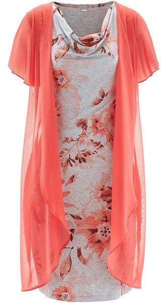 786e722698c8 Úpletové šaty v dvojitom vzhľade bonprix značky bpc selection - Lovely.sk