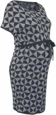 f94d18053569 Čierne kvetované tehotenské šaty Dorothy Perkins Maternity značky ...