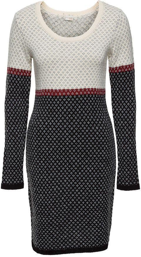 12dd4d88a Bonprix Pletené šaty značky BODYFLIRT boutique - Lovely.sk