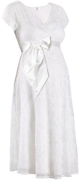 a8e6a2c8fd22 Tehotenské svadobné šaty bonprix značky bpc bonprix collection - Lovely.sk