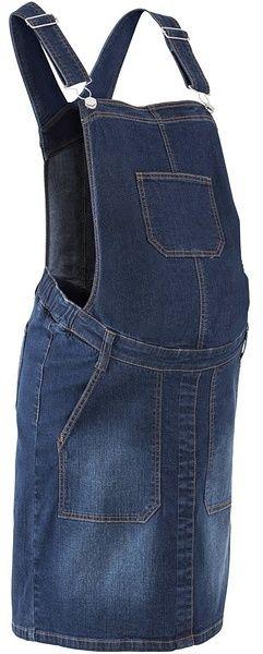 1280f9ca85c6 Tehotenské džínsové šaty na traky bonprix značky bpc bonprix collection -  Lovely.sk