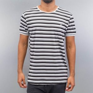 Super Stripes T-Shirt White/Black *BWARE* XXL