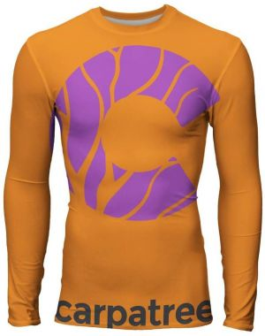 Longsleeve Rashguards Spice Orange XXL