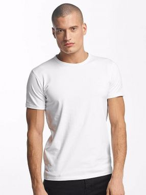 T-Shirt Basic in white XXL