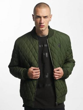 Bomber jacket Quilted Bomber in olive 3XL