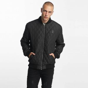 Bomber jacket Quilted in black 3XL