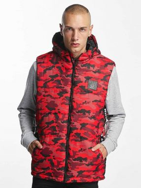 Vest BigWho Quilted Red XL