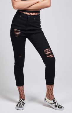 Jeans SikSilk High Waisted Skinny RIP 32