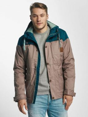 Winter Jacket Leaf in beige XXL