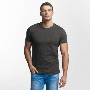 T-Shirt Basic in grey XL