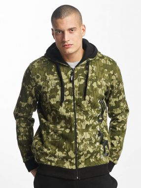 Zip Hoodie Classic in camouflage 3XL