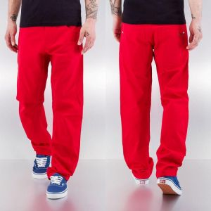 Chino pants J in red 28