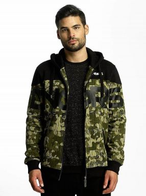 Zip Hoodie Two Tone in camouflage M