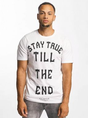 T-Shirt Stay True in white M