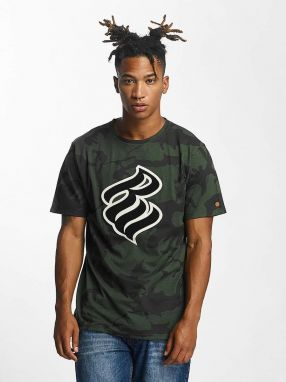 T-Shirt Retro Army in olive XL