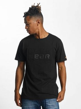 T-Shirt Embossing in black XL