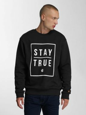 Pullover Stay True in black 3XL