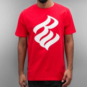 T-Shirt Logo in red S