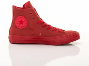 Unisex Boty Chuck Taylor All Star II Lux Leather High Top Casino Red 39,5