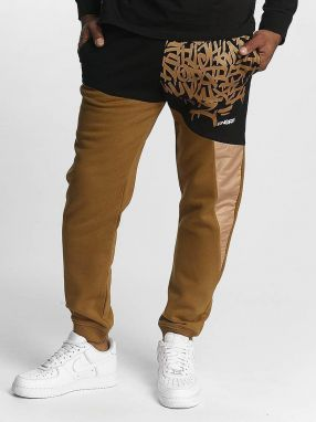 Sweat Pant AlphaMark in brown 3XL