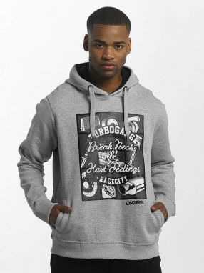 Hoodie Race City Carparts in gray 6XL