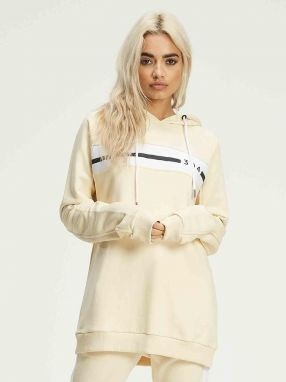 Hoodie Oversized Beige 304 Clothing XS