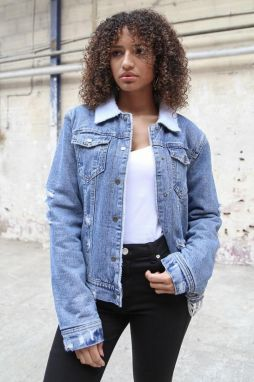 Denim Jacket Blue Sixth June S