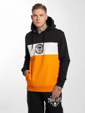 Hoodie in orange 5XL