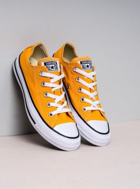 Low-Top Canvas Sneakers Orange Classic 39,5