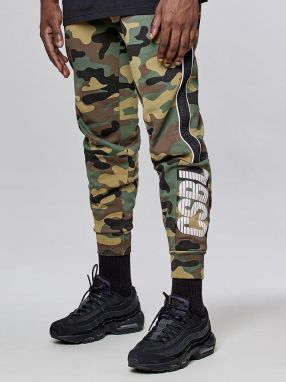 Tepláky CSBL First Division Sweatpants camo XL