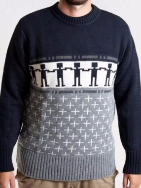 Sweater Do The Wave Navy XL