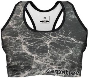 Sports Crop Top Black Marble XS