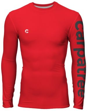 Longsleeve Rashguards Red Is Red XXL