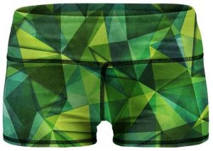 Women Training Shorts Green Shades XS
